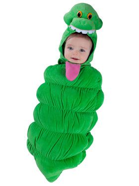 Ghostbusters Slimer Toddler Swaddle Costume