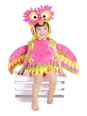 Colorful Holly the Owl Baby/Toddler Costume