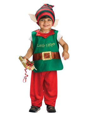 Toddler Child Lil Elf Costume