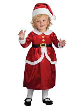Lil Mrs. Claus Costume for Kids