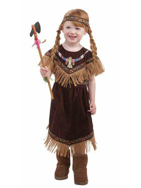 Toddlers Lil Native American Princess Costume