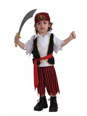 Lil' Pirate Boy Costume for Kids