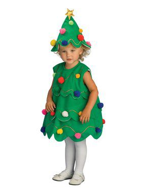 Lil Xmas Tree Costume for Kids
