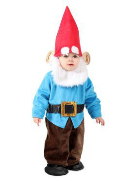 Infant's Littlest Garden Gnome Costume