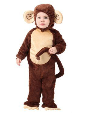 Little Monkey Child Costume