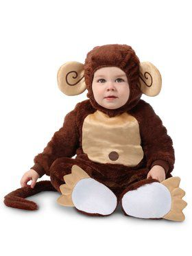 Infant's Littlest Monkey Costume