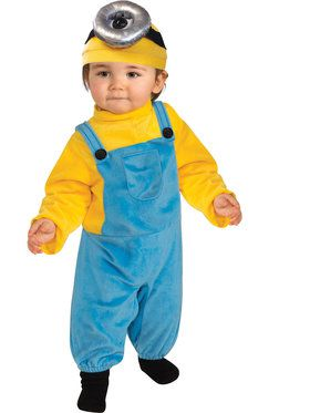 Toddler Minion Stuart Costume Toddler