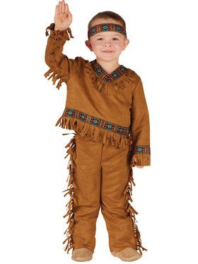 Toddler Native American Boy Costume