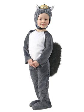 Nibbles the Squirrel Costume for Kids