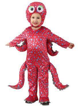 Toddler Oliver the Octopus Costume