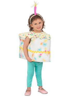 Party Cake Toddler Costume