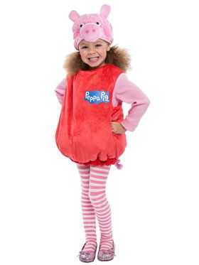 Peppa Pig Deluxe Bubble Dress Costume For Toddlers