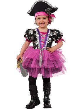 Toddler Pirate Princess Costume Toddler