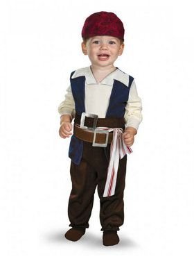 Toddler Pirates of the Caribbean Jack Sparrow Costume