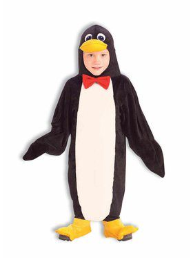 Plush Penguin Toddler Costume