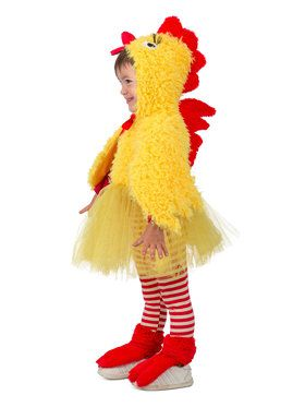 Premium Princess Chicken Toddler Costume