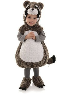 Toddler Raccoon Belly Babies Costume Toddler