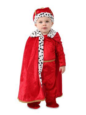 King Regally Royalty Costume for Toddlers