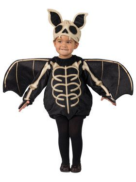Skele-Bat Toddler Costume