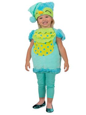 Toddler Sleepy Owl Tunic Costume