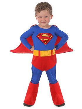 Superman Toddler Cuddly Costume