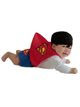 Superman Toddler Diaper Cover Set Costume