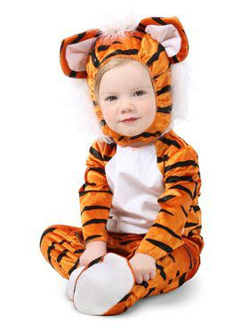 Toddler Trevor the Tiger Costume