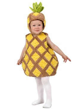 Tropical Pineapple Toddler Costume