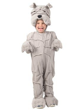 Wrinkly Bulldog Child Costume