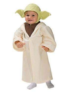 Classic Yoda Star Wars Costume for Infant/Toddler