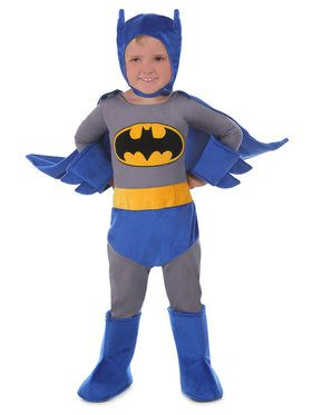 Toddler's DC Comics Cuddly Batman Costume
