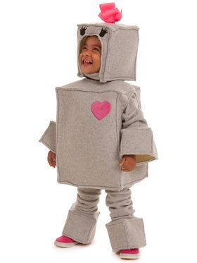 Toddlers Rosalie the Robot Costume For Toddlers