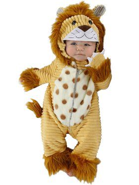 Toddler's Safari Lion Costume