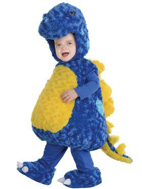 Toddler's Stegosaurus Belly Baby Costume