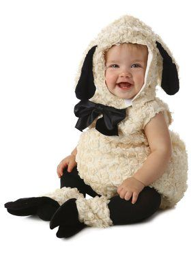 Toddler's Vintage Lamb Costume