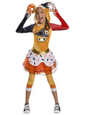 Tokidoki Halloween Donutella Costume for Girls
