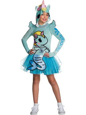 Tokidoki Mermicorno Costume for Girls