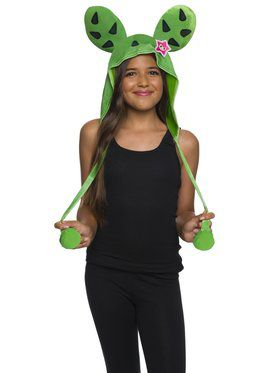 Girls Adorable Sandy Cactus Hood