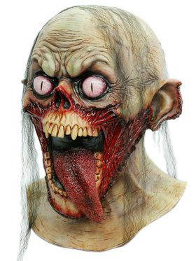 Tongue Slasher Halloween Mask