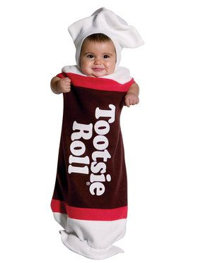 Tootsie Roll Baby Bunting Costume For Babies