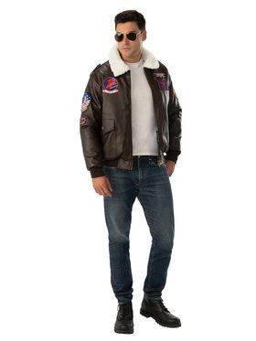 Top Gun Bomber Jacket for Adults