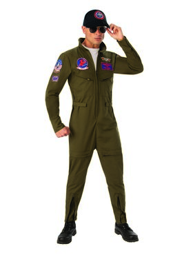 Top Gun Deluxe Costume for Adults