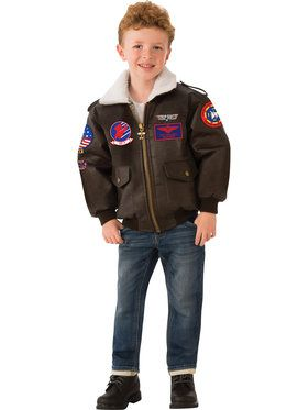 Top Gun Bomber Jacket for Children