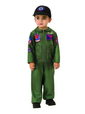 Top Gun Romper for Toddlers