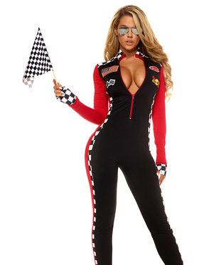 Top Speed Sexy Racer Women's Costume