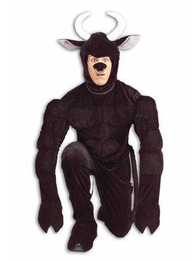 Torro the Terri Bull Adult Costume
