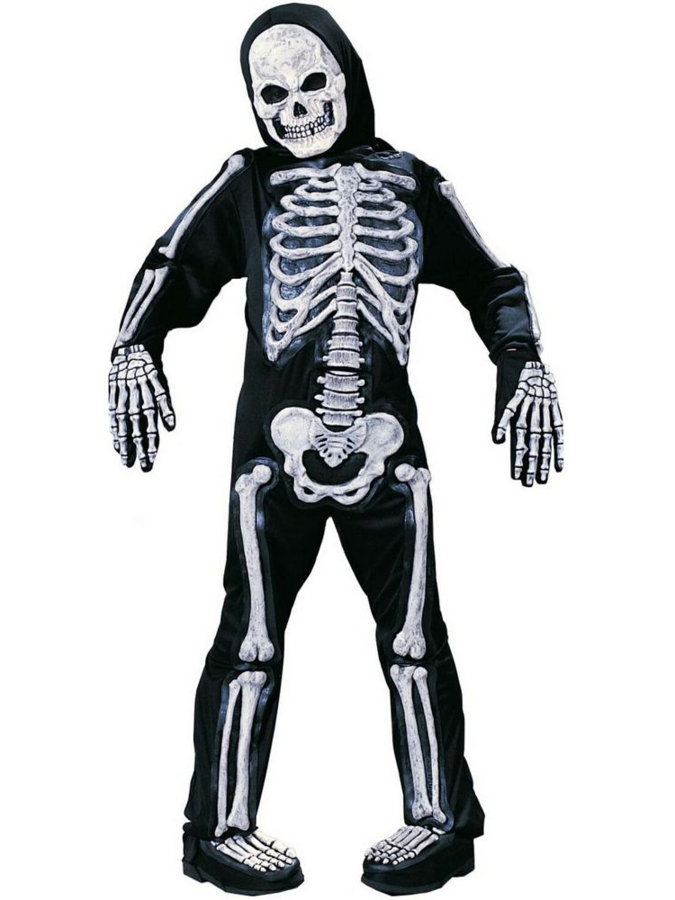 Fun World Kids Skeleton Halloween Costume