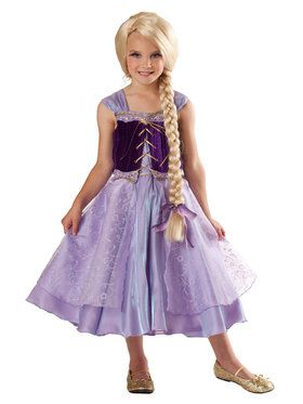 Tower Princess Costume For Children