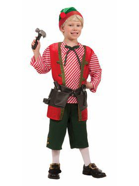 Toy Maker Child Elf Costume