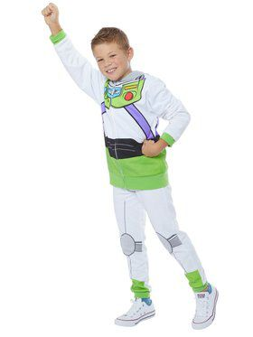 Child's Toy Story 4 Buzz Lightyear Hoodie and Pants Costume